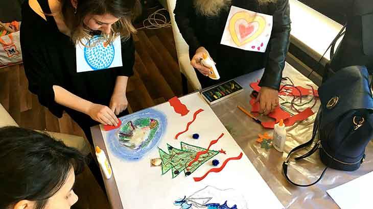 Çocuklarla ve Gençlerle Sanat Terapisi Eğitimi Birçok İlde Devam Ediyor