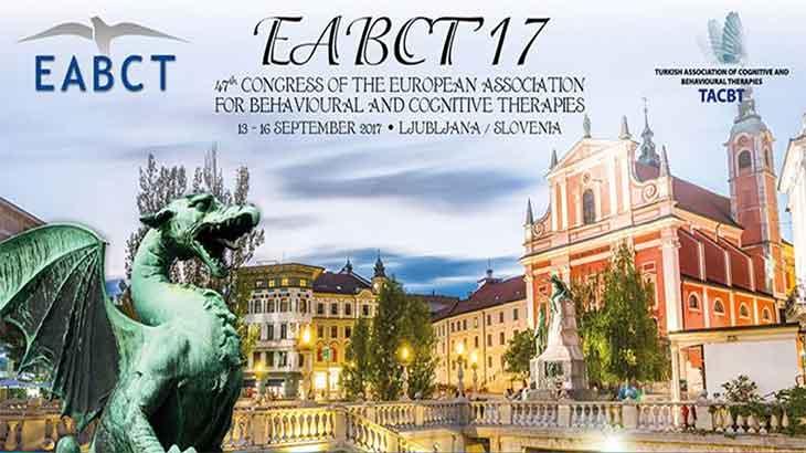 47. Avrupa Davranış ve Kognitif Terapileri Birliği Kongresi 13-16 Eylül'de