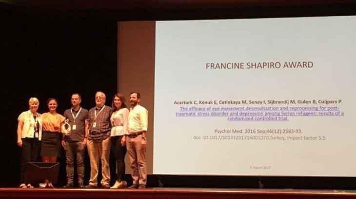 Francine Shapiro Araştırma Ödülü Türkiye'nin!