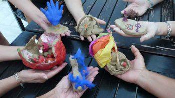 Geleneksel Dışavurumcu Sanat Terapisi Atölye Çalışması 6-9 Ekim'de Yapıldı