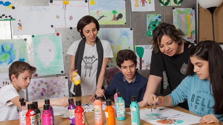 Çocuk ve Gençlerle Sanat Terapisi Uygulamaları