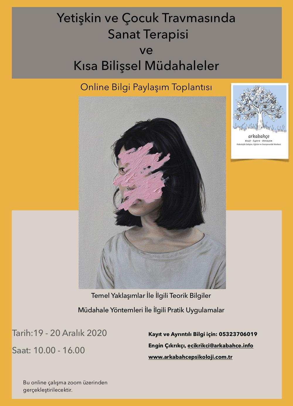Yetişkin ve Çocuk Travmasında Sanat Terapisi ve Kısa Bilişsel Müdahalelerin Kullanımı