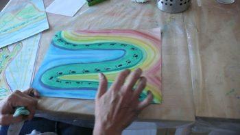 İmgelerle Çalışma, Sanat Eserine Bakma Stratejileri ve Becerileri