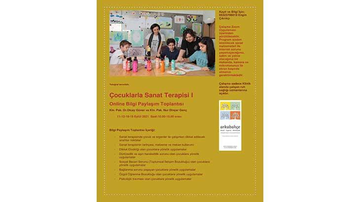 Çocuklarla Sanat Terapisi I