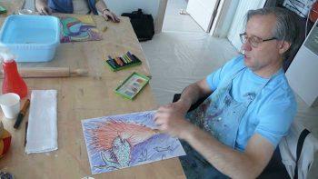 İmgelerle Çalışma, Sanat Eserine Bakma Stratejileri ve Becerileri Kazanma